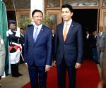 MADAGASCAR-ANTANANARIVO-POWER-HAND OVER
