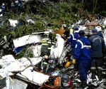 COLOMBIA ANTIOQUIA BRAZIL ACCIDENT AIRPLANE