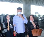 Anu Malik & His Family Spotted at Airport Departure