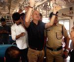 Anupam local train affair in Mumbai
