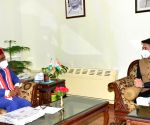 Anurag Thakur called on Governor Bandaru Dattatraya at Raj Bhavan