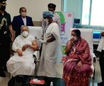 Andhra Guv takes Covid vaccine shot