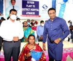 Andhra minister inaugurates O2 plant funded by Sonu Sood