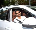 Aparshakti Khurrana Spotted at Juhu For A Movie Meeting