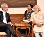 File Photos: Tim Cook meets Prime Minister Narendra Modi