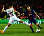 FC Barcelona-AS Roma, Champions League