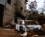 ISRAEL ARARA HEATWAVE FIRES