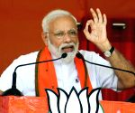 Congress for 'vote bhakti', BJP for 'desh bhakti': Modi