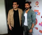 Arbaaz Khan and Farhan Akhtar spotted in Juhu