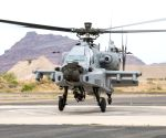 IAF gets first Apache attack helicopter