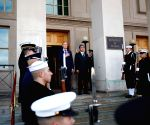 U.S.-ARLINGTON-JAPAN-DEFENSE MINISTER-VISIT