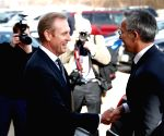 U.S. ARLINGTON PENTAGON NATO SECRETARY GENERAL VISIT