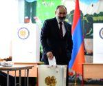 Armenia kicks off snap parliamentary elections
