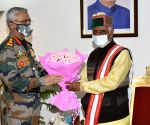 Army chief discuses India-China border infra with HP Guv