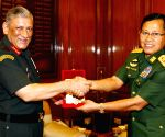 Vice Senior General Soe Win meets Gen. Bipin Rawat