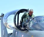 Army chief flies in Tejas