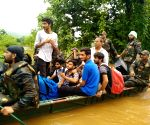 Rescue operations underway in flood hit areas of Maharashtra