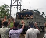 Army pulls out from some areas of western Assam