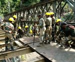 Free Photo: Army rebuilds vital bridge along Manipur's life line linking Assam