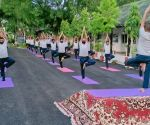 Covid patients, soldiers, CMs perform yoga across northeast
