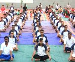 International Day of Yoga - Army soldiers
