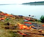 Around 45 decomposed bodies found in Ganga river at Bihar's Buxar district.