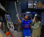 Virat Kohli's statue gets finishing touches ahead of its installation at Echo Park