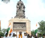 Mahatma Gandhi's 148th birth anniversary - Suresh Kumar Hajju performs street play