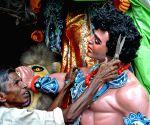 Durga Puja - preparation