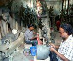 Kali Puja preparations