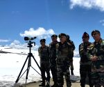 Eastern Army commander visits forward posts in Mizoram