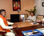 Arunachal Tourism Minister meets Prahalad Singh Patel