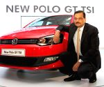 India pose during the launch of Volkswagen Polo GT TSI in Mumbai