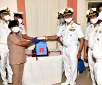 Free Photo: Vizag navy hospital vaccinates 40 frontline workers for Covid