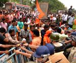 BJP gheraos SP offices across Bengal over law & order
