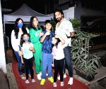 Ashish Chaudhary & Family Spotted at Izumi Restaurant in Bandra