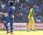 Agar's fifer, including a hat-trick, help Aus thrash SA