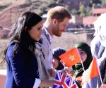MOROCCO ASNI UK PRINCE HARRY VISIT