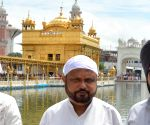 Prafulla Kumar Mahanta visits Golden Temple