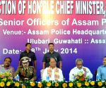 Assam CM during police programme