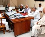 Assam CM during a meeting