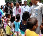 Tarun Gogoi visits SOS children's village