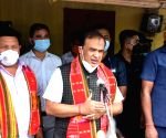 Assam CM visits family of 2 girls found hanging from tree, assures firm action.