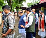 Free Photo: Assam CM visits sites of Tinsukia grenade blast that claims two lives