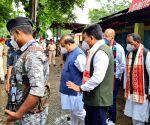Assam CM visits grenade blast site in Tinsukia