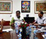 Assam Minister meets Prahalad Singh Patel