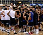 GREECE-ATHENS-GREEK NATIONAL BASKETBALL TEAM-TRAINING SESSION