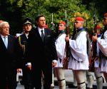 Greece athens slovenia president visit
