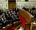 GREECE ATHENS FYROM NATO ACCESSION PROTOCOL APPROVAL
