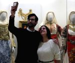 GREECE ATHENS MUSEUM TAKING SELFIES